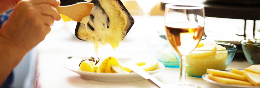 vin servir avec la raclette