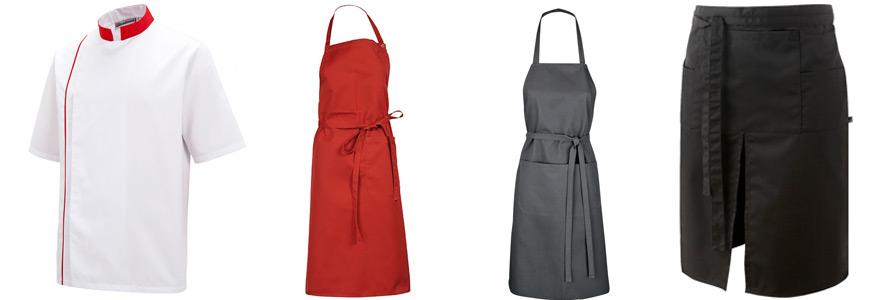 tenue de cuisine complete