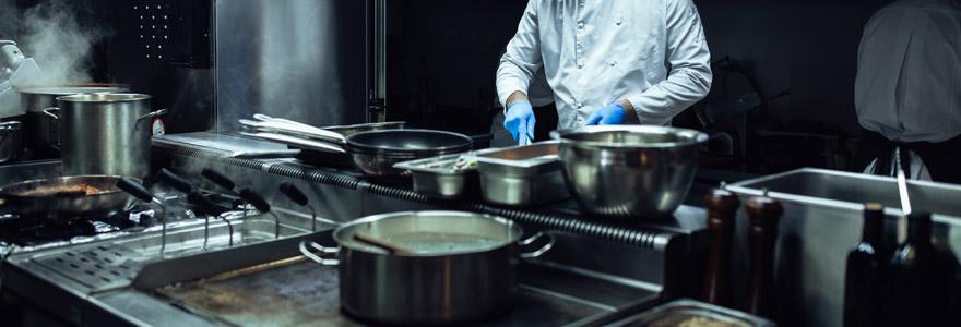 matériel inox pour cuisine