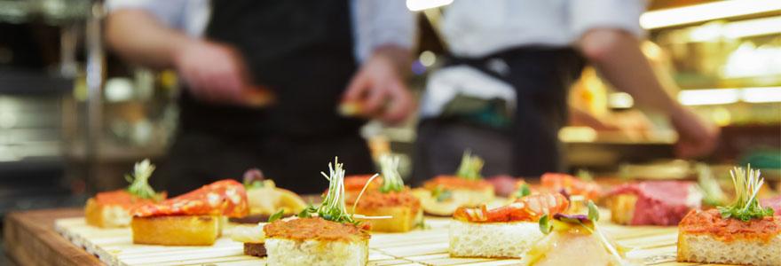 Amateur de gastronomie traiteur