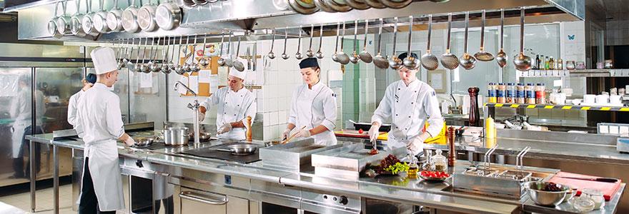 cuisine de restaurant