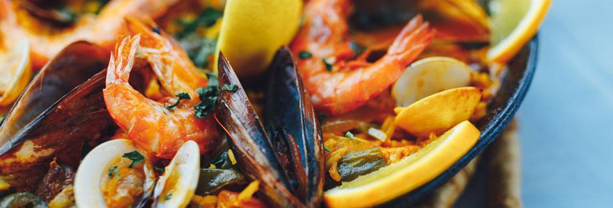 Déguster des fruits de mer