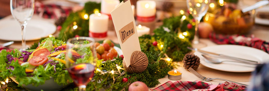 Réussir son repas de Noël en famille