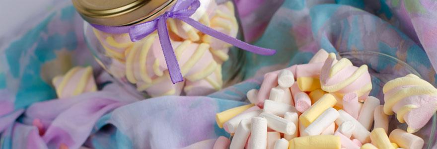 Pâtes à tartiner aux marshmallow