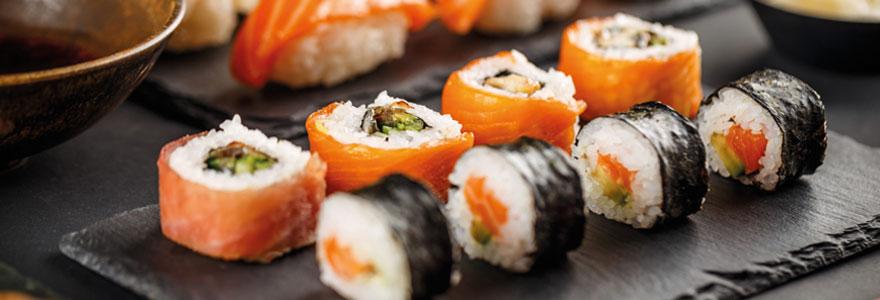 commander du sushi