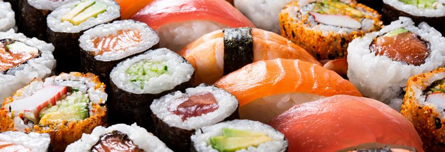 Sushi à Nîmes